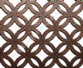 Inner Circular Grille Antique Copper Powder Coated Steel Sheet 1000mm x 660mm x 1mm